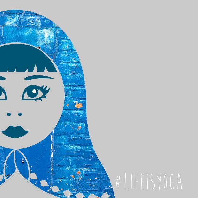 Life is yoga (matroesjka) Groningen